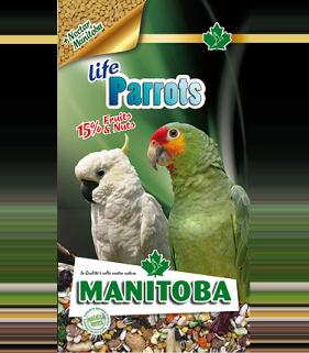 Manitoba Parrots Life 2 kg