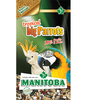 Tropical Big Parrots 2 kg...