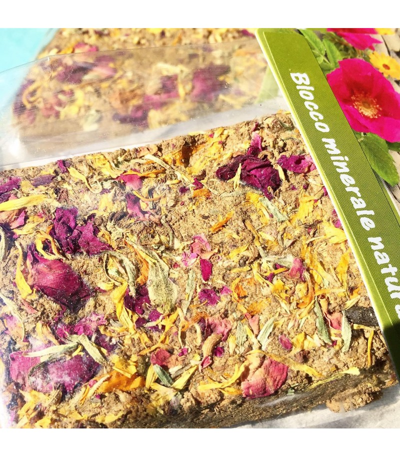 JR FARM - Pietra di Argilla con fiori...