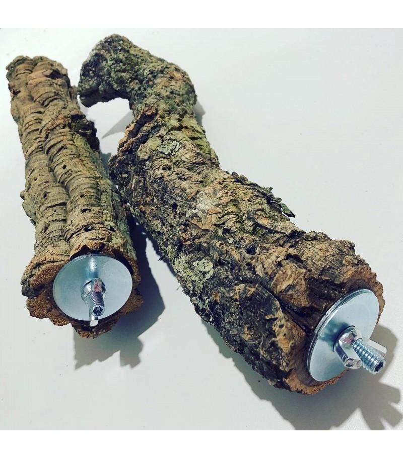 Posatoio in legno di Sughero tg M