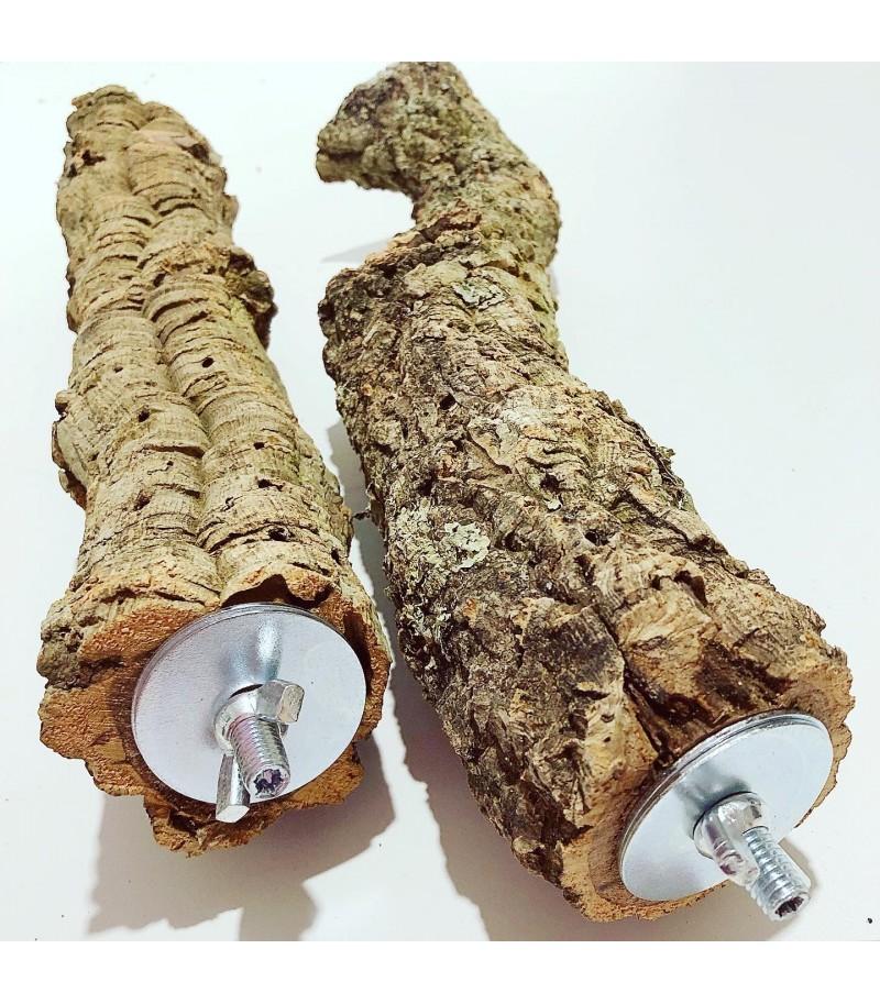 Posatoio in legno di Sughero tg L