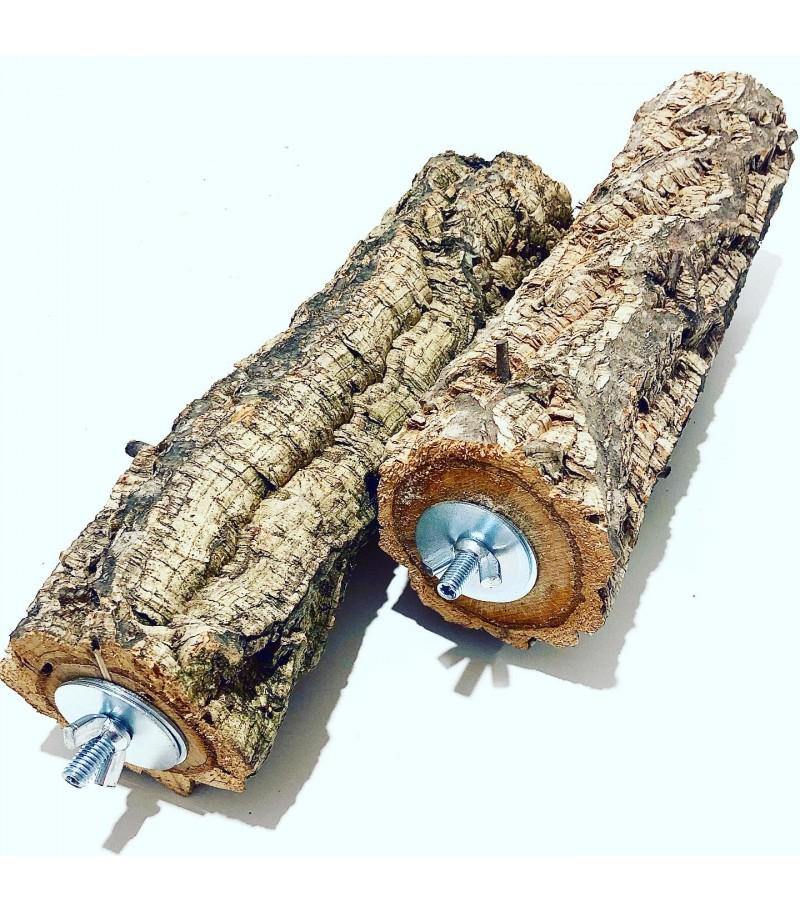 Posatoio in legno di Sughero tg XL